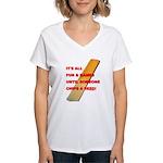 Chip a Reed Women's V-Neck T-Shirt