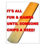 Chip a Reed Small Poster