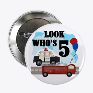 Everyday Heroes 5th Birthday Button