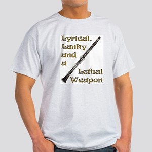 Clarinet - Lethal Weapon Light T-Shirt