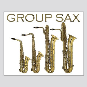 Group Sax Small Poster