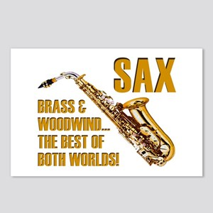 Sax: Best of Both Worlds Postcards (Package of 8)