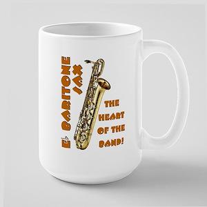 Baritone Sax Large Mug