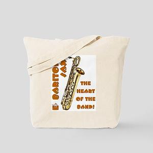 Baritone Sax Tote Bag