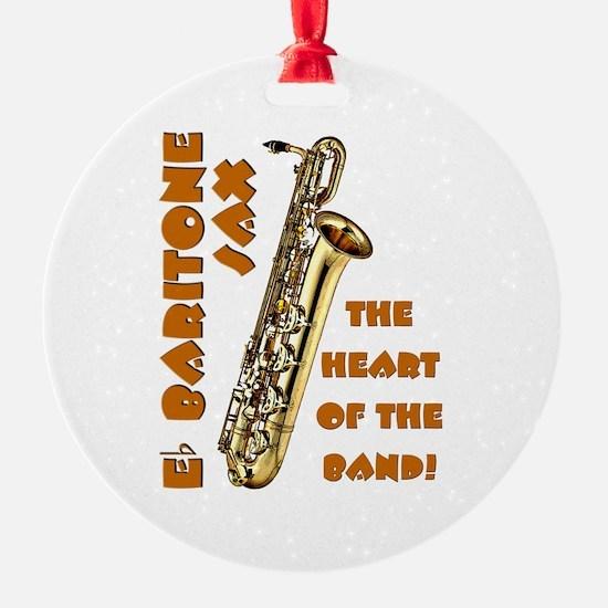 Baritone Sax Ornament