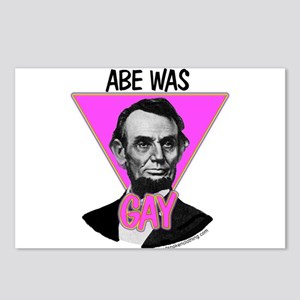 Abe Was Gay Postcards (Package of 8)