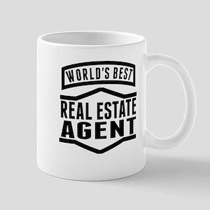 Worlds Best Real Estate Agent Mugs