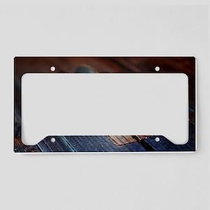 Old Bandsaw License Plate Holder