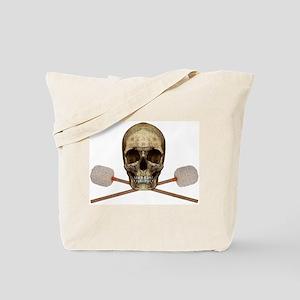 Bass Drum Pirate Tote Bag