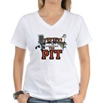 Proud to Be In the Pit Women's V-Neck T-Shirt