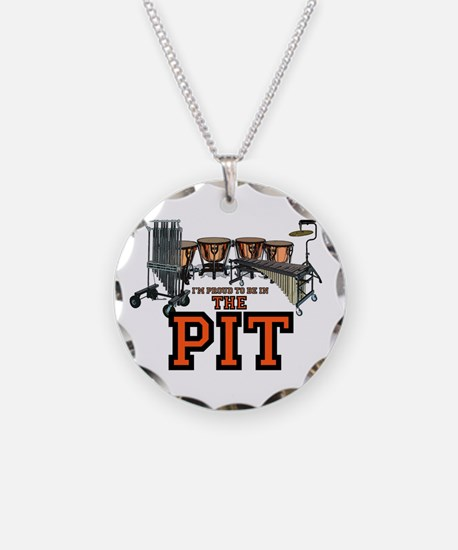 Proud to Be In the Pit Necklace