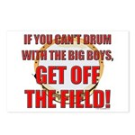 Drum With the Big Boys Postcards (Package of 8)