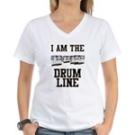 Quads: The Drumline Women's V-Neck T-Shirt