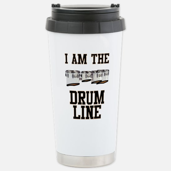 Quads: The Drumline Stainless Steel Travel Mug