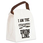 Quads: The Drumline Canvas Lunch Bag