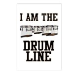 Quads: The Drumline Postcards (Package of 8)