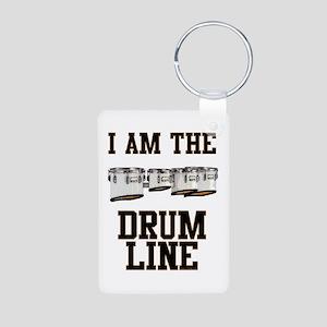 Quads: The Drumline Aluminum Photo Keychain