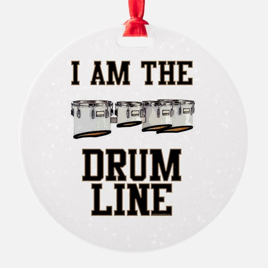 Quads: The Drumline Round Ornament