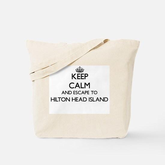 Keep calm and escape to Hilton Head Islan Tote Bag