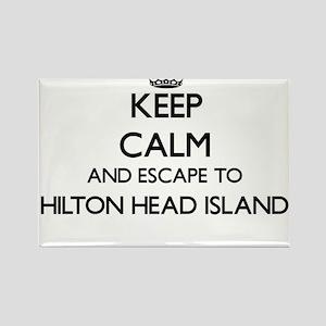 Keep calm and escape to Hilton Head Island Magnets