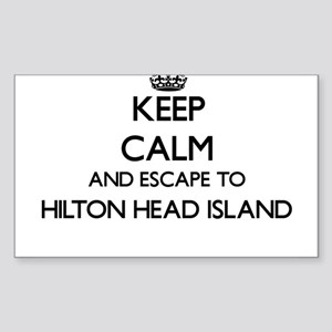 Keep calm and escape to Hilton Head Island Sticker