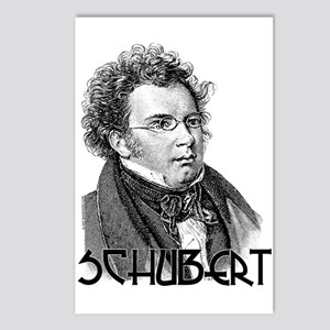 Schubert Postcards (Package of 8)