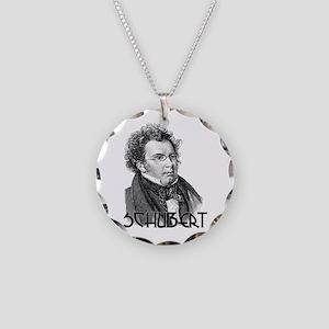 Schubert Necklace Circle Charm