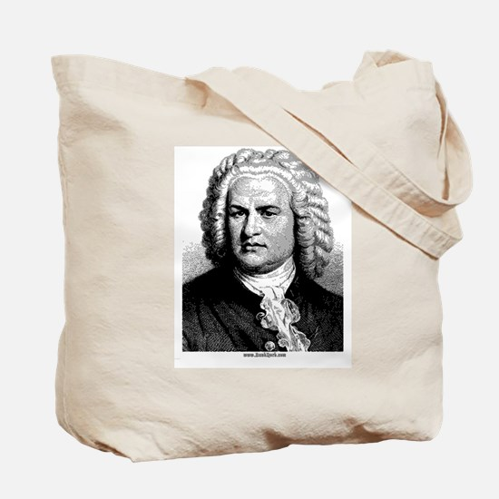Front ~ Bach Tote Bag
