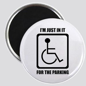 I'm Just In It For The Parking Magnets