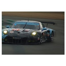 Porsche 911 RSR, car 77 Canvas Art