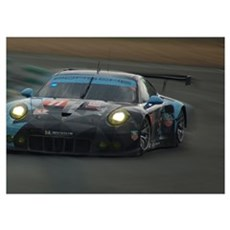 Porsche 911 RSR, car 77 Poster