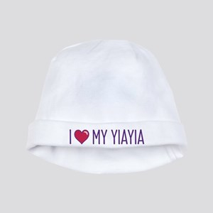 I Love My Yiayia baby hat