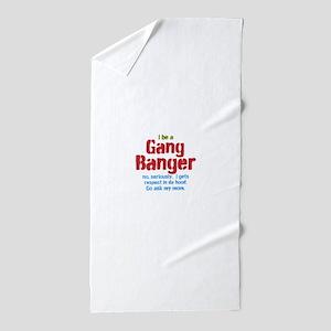 Gang Banger Beach Towel