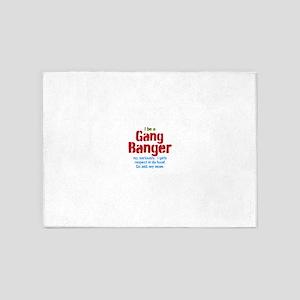 Gang Banger 5'x7'Area Rug