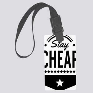 Stay Cheap Large Luggage Tag
