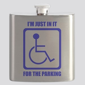 I'm Just In It For The Parking Flask