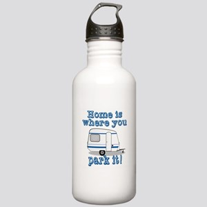 Home Is Where You Park Stainless Water Bottle 1.0L