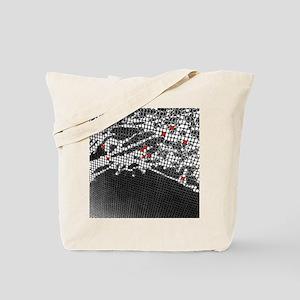 Ten Red Squares Tote Bag