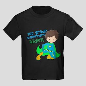 Elementary Superhero Kids Dark T-Shirt