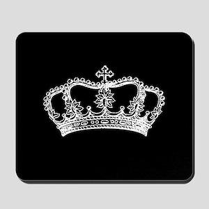 Vintage Crown Mousepad