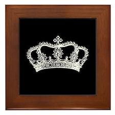 Vintage Crown Framed Tile