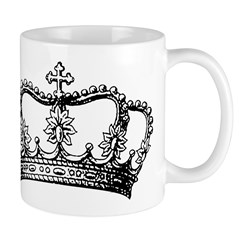 Vintage Crown Mugs
