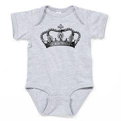 Vintage Crown Baby Bodysuit