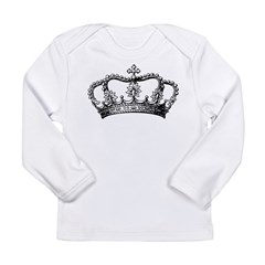 Vintage Crown Long Sleeve T-Shirt
