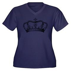 Vintage Crown Plus Size T-Shirt