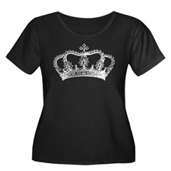 Vintage Crown Plus Size T-Shirt