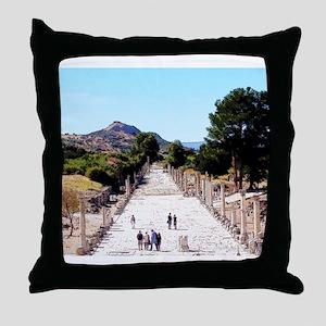 A Turkish Journey Throw Pillow