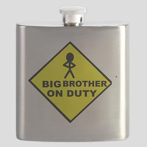 Big Bro on Duty Flask