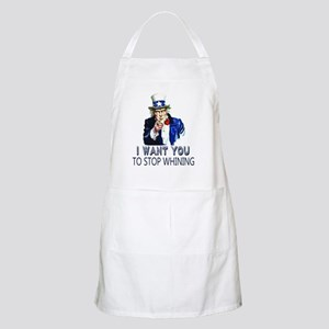 Uncle Sam Stop Whining Apron