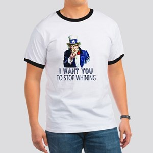 Uncle Sam Stop Whining Ringer T